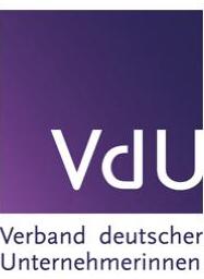 Verband deutscher Unternehmerinnen - Logo