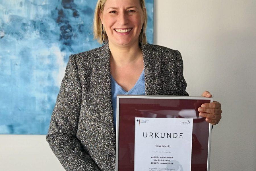 Vorzeigbar: Vorbild-Unternehmerin Heike Dietzsch, Odis Consultants GmbH